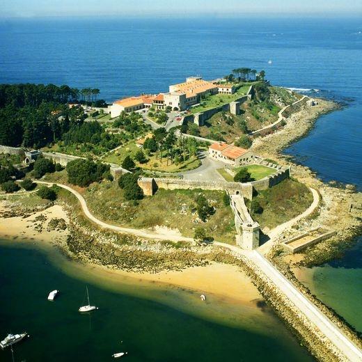 Parador de Baiona. (Pontevedra). Galicia. Spain.