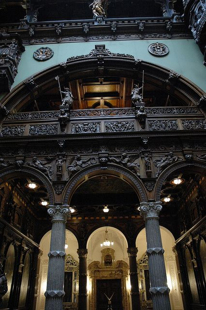 Interior, Peles Castle, Romania