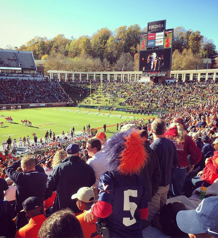#UVA #Cavaliers fans stand up as the game is about to begin! Thanks @lottapalooza!  #SuperTailgate #tailgate #tailgating #win #letsgo #gameday #travel #adventure #stadium #party #sport #ESPN #jersey #sports #league #SportsNews #score #photooftheday #love #football #NCAAF #CollegeFootball