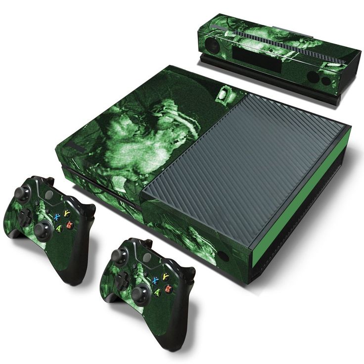 Outlast xbox one skin decal for console and 2 controllers