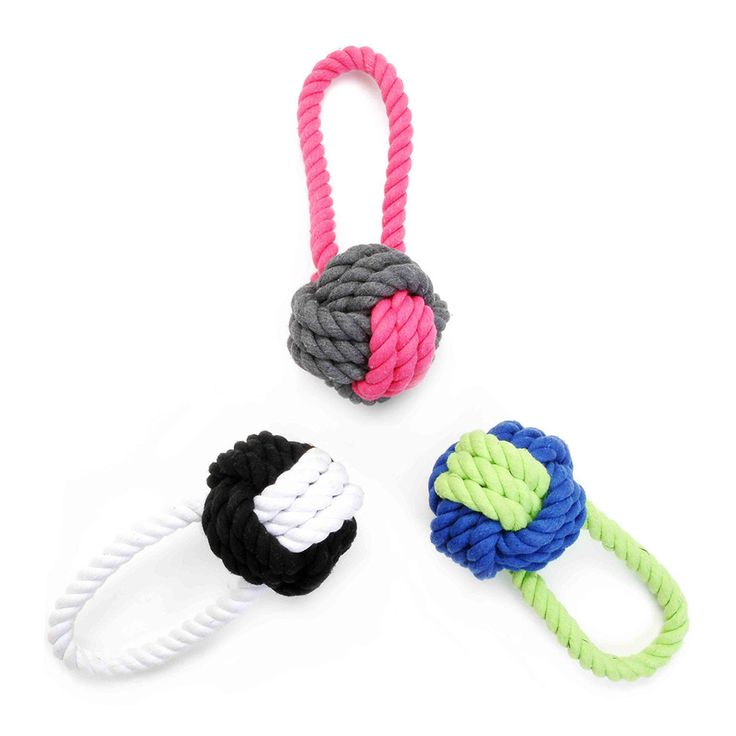 Have a Ball Rope Toy - Waggo