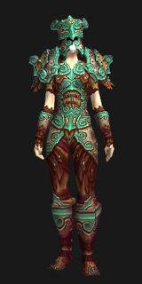Azure Serpent Set (Recolor) - Transmog Set - World of Warcraft