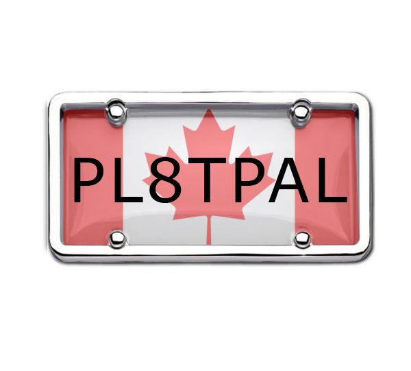 Be a Proud Canadian. Install Canada Flag Licence Plate and Show Your Patriotism http://goo.gl/yKb4pH