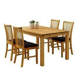 Jídelní stůl SILKEBORG 90x160cm dub   JYSK