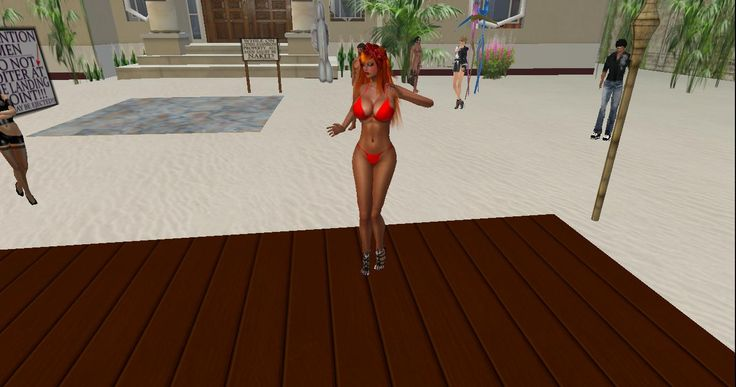 Beach party at CFNM Mansion