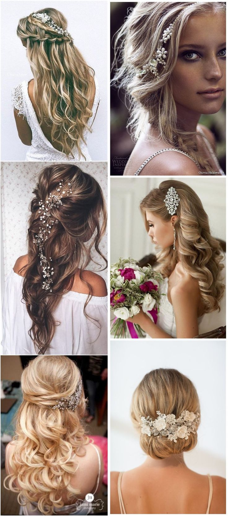 Bridal hair accessories for long hair - Hair Comes The Bride 20 Bridal Hair Accessories Get Style Advice For Any Budget