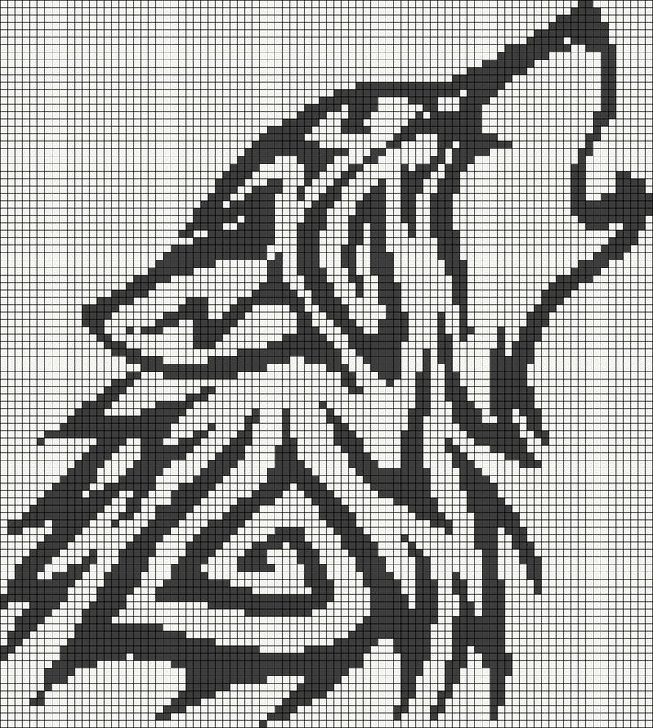wolf - Alpha Pattern #13596 Preview added by puppydog