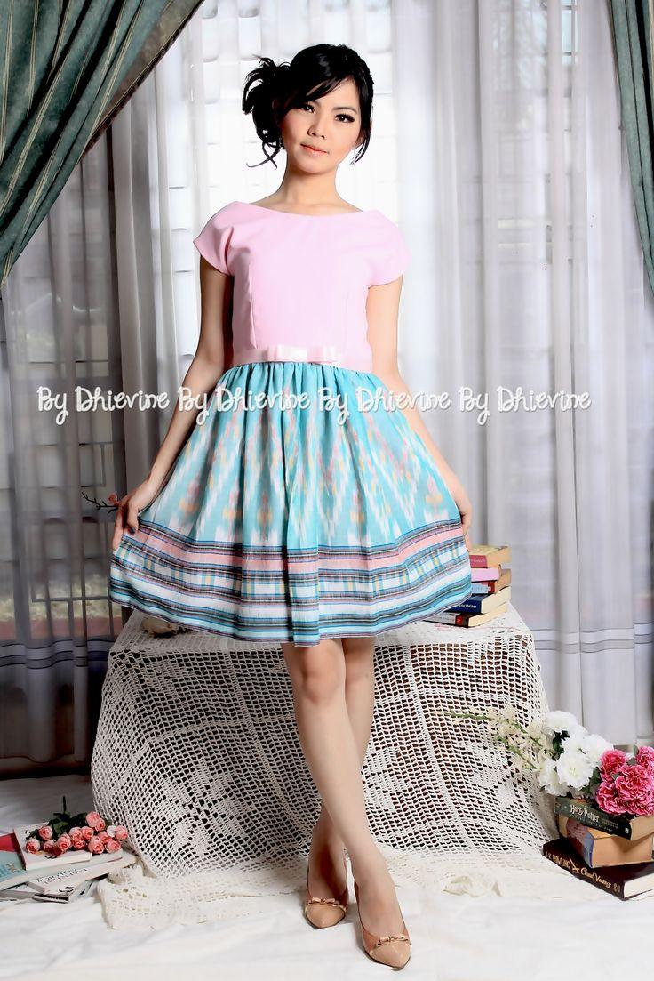 Mandasari Ikat Dress | DhieVine | Redefine You