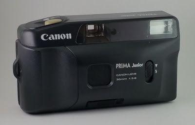 As Minhas Câmaras: Canon Prima Junior (1988)
