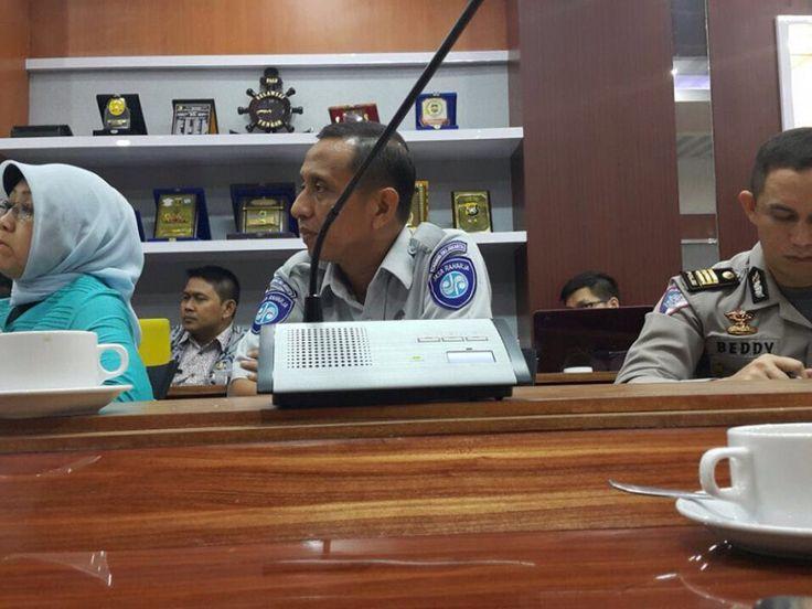 Rapat DPP dan Dispenda Bandung untuk e-samsat