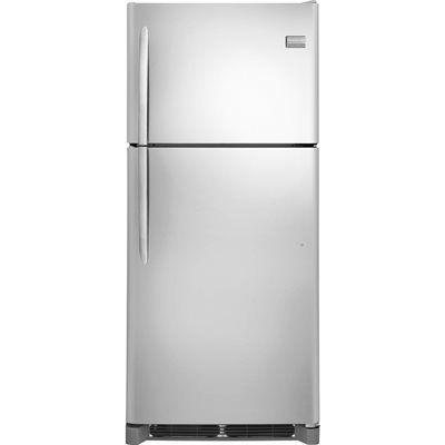shop frigidaire gallery ft topfreezer smudgeproof stainless steel at loweu0027s canada find our selection of at the lowest price