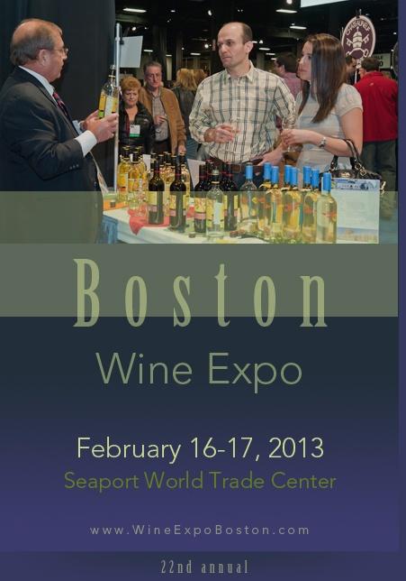Boston Wine Expo, February 16-17, 2012