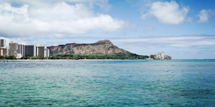 A hike up Diamond Head is a must; it formed 300,000 years ago in a single, explosive eruption. #Jetsetter