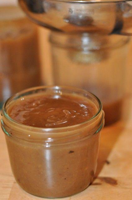 Crème de marrons ou confiture de chataîgnes (Kastanien Creme oder  Marmelade)