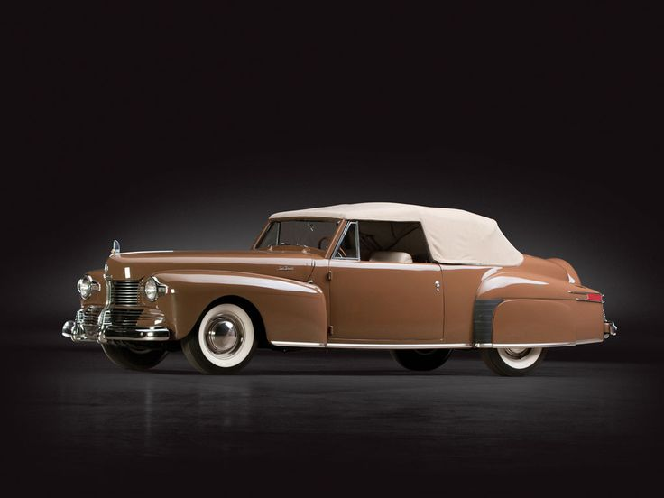 1942 Lincoln Continental Cabriolet | Sam Pack Collection 2014 | RM AUCTIONS