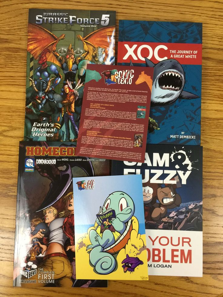 Comic Bento is a monthly comic subscription box with a great monthly theme – see the September 2016 Wild Animals box in my review!  - http://hellosubscription.com/2016/09/comic-bento-september-2016-subscription-box-review-coupon/ #ComicBento #subscriptionbox