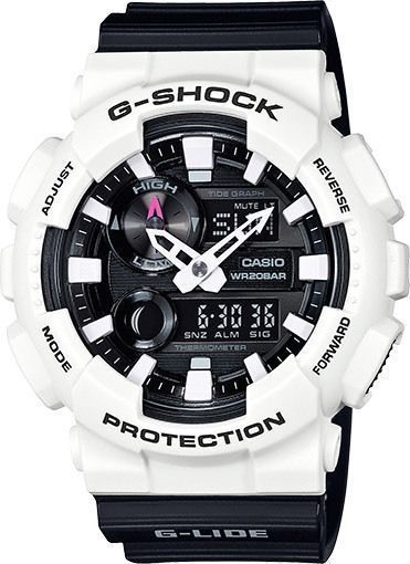 DEAL OF THE DAY NEW CASIO G SHOCK GAX100B-7A G-LIDE WHITE/BLACK ANA-DIGI WATCH