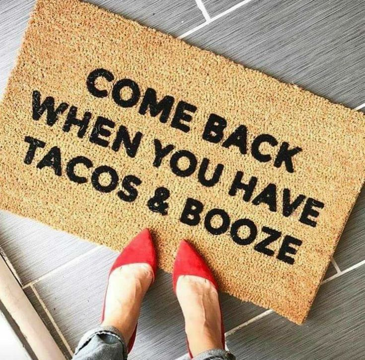Come back when you have tacos & booze. •taco tuesday