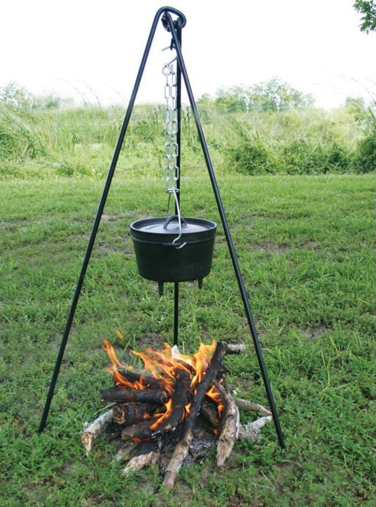 Cook Your Meals Over A Campfire With Ease With This Diy