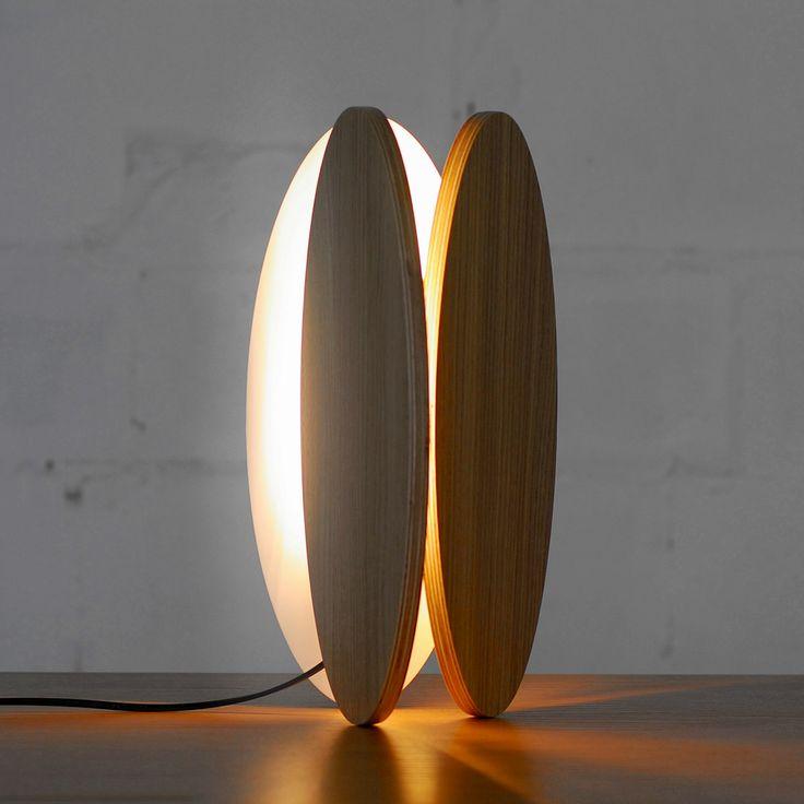 Настольная лампа от украинского дизайнера, фото #Interiors #lighting #lamp #design #Ukraine