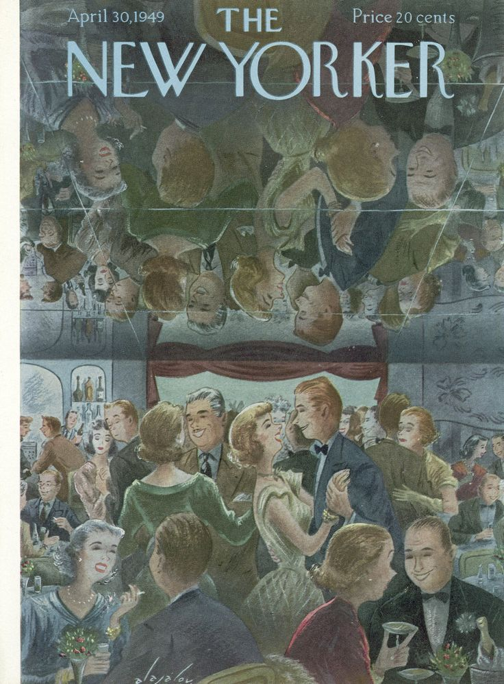 The New Yorker - Saturday, April 30, 1949 - Issue # 1263 - Vol. 25 - N° 10 - Cover by : Constantin Alajalov
