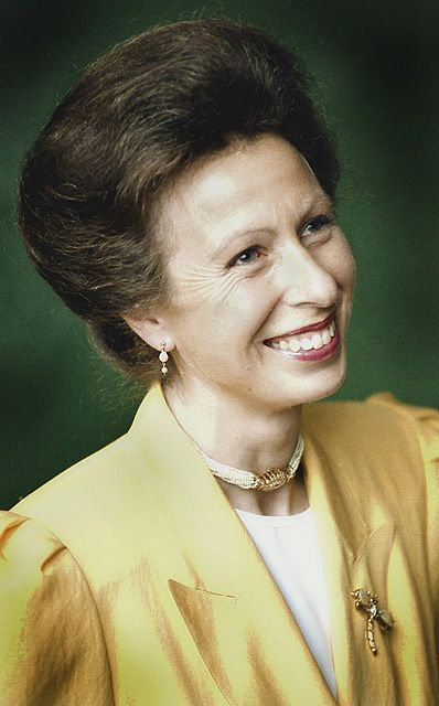 Beautiful picture of Princess Anne: