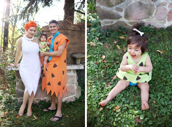 I always imagined that if I had a little girl someday, we would dress up as The Flintstones for Halloween. I enjoyed the show tremendously as a kiddo, and aren't nostalgic Halloween costumes always the best? Whipping up the costumes was actually easier than I thought it would be. Sure, you can find Fred and …