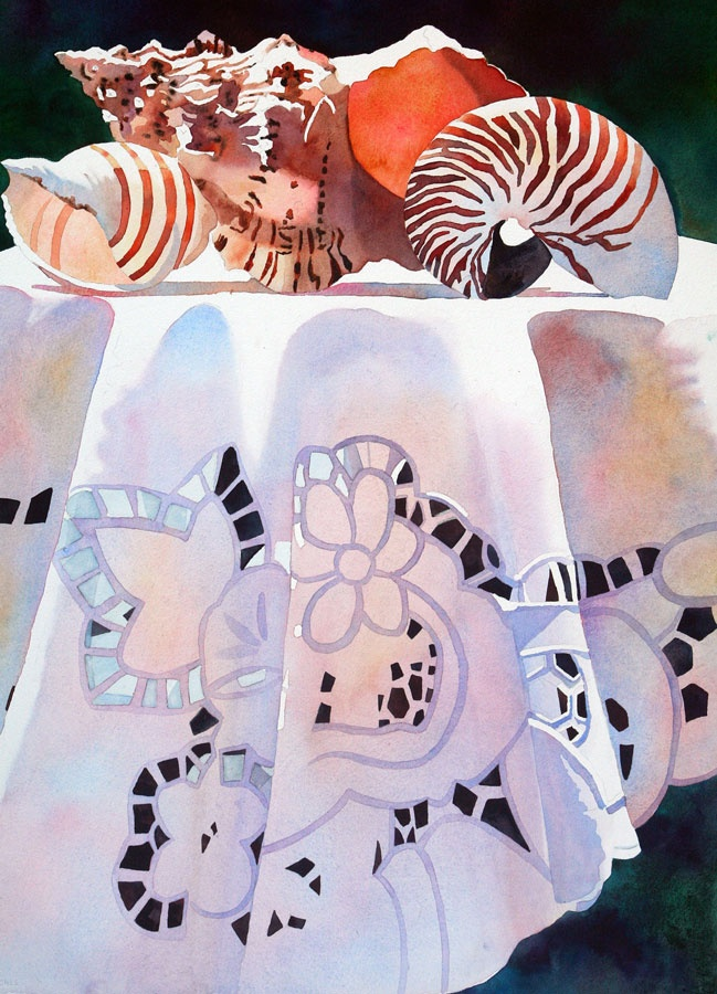 Anne Abgott's Gallery of Water Colors   Still Life. WOW!: