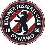 "Full name 	Berliner Fussball Club Dynamo e. V. Nickname(s) 	""The Wine Reds"" Founded 	1953, 1966 Ground 	Friedrich-Ludwig-Jahn-Sportpark Capacity 	19,708 Chairman 	Germany Norbert Uhlig Manager 	Germany Thomas Stratos League 	Regionalliga Nordost (IV) 2014–15 	5th"