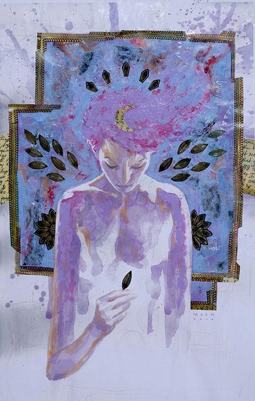 David Mack, Amanda Palmer Art favorite art from the new album