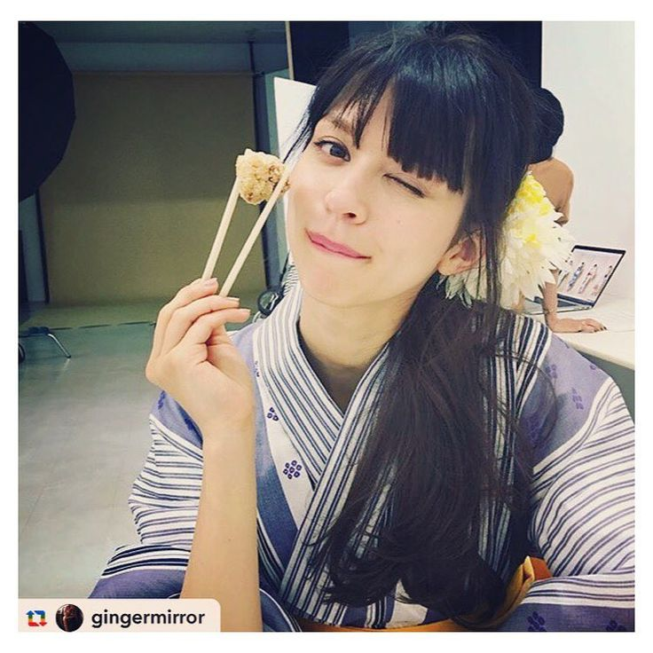 Alexa LさんはInstagramを利用しています:「@gingermirror と撮影お疲れ様でした! #ginger #shooting #japanese #japan #model #yukata #seriouslyidontknowhowtotag」