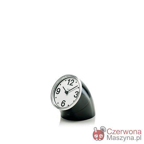 Zegar na biurko Alessi Cronotime czarny - CzerwonaMaszyna.pl
