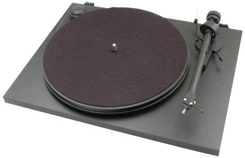 Pro-Ject Essential II Audiophiler Plattenspieler (Ortofon Tonabnehmer OM5e vormontiert) schwarz