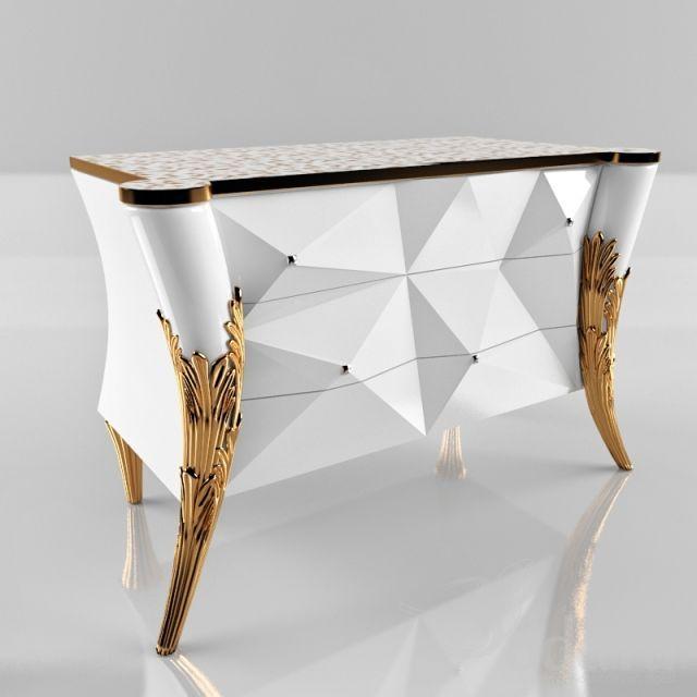 PROFI Rudiana 3dsMax 2011 + fbx (Vray) : Sideboard & Chest of drawer : 3dSky - 3d models