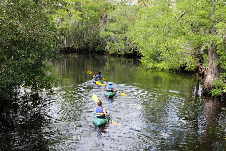 Jonathan Dickinson State Park, Stuart, FL | Rent a kayak from the park's River Store or take a dip at the park's swimming beach.