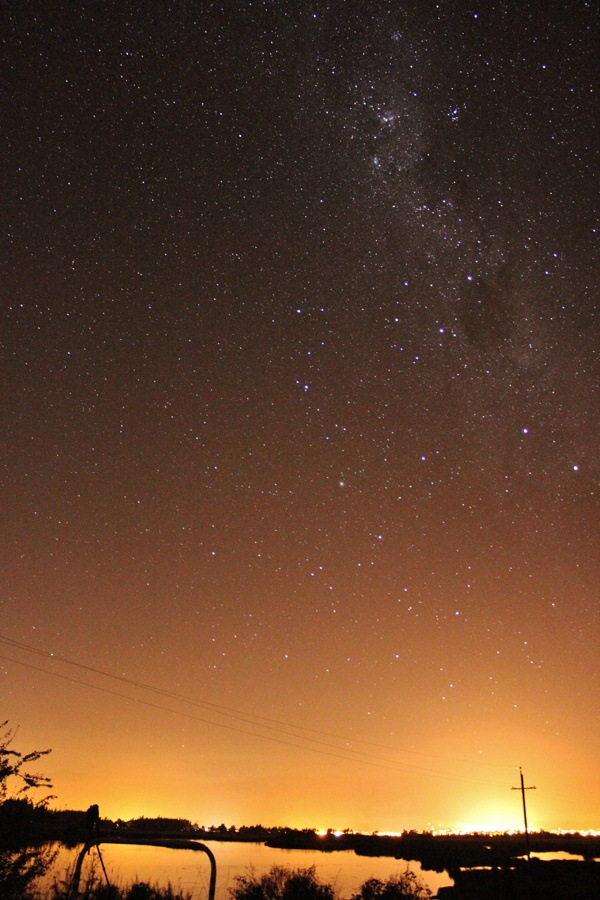 Milky-way over Richmond, Nelson New Zealand