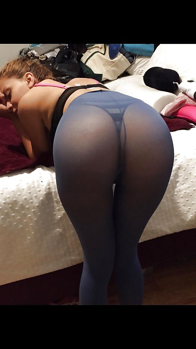 Round butts pantyhose nylons sex