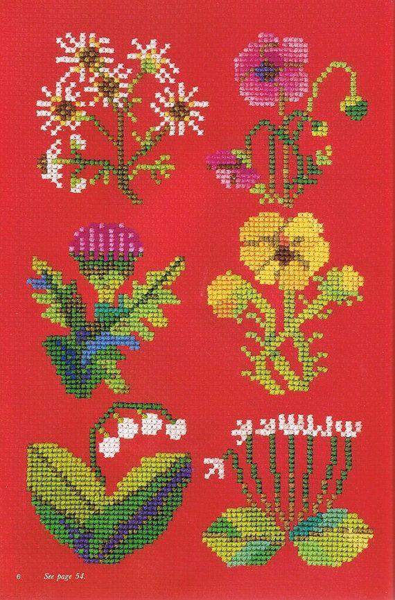 Japanese Cross Stitch Motif Pattern Book Super Cute by LuckyKorat, $2.49