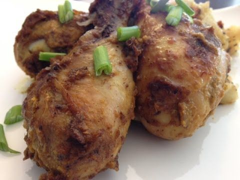 ▶ Bhuna Masala Chicken Recipe ( Indian style Chicken Drumsticks recipe) - YouTube