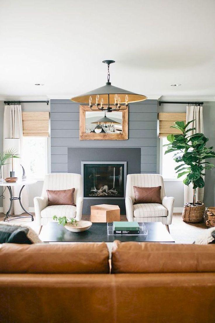 amazing modern farmhouse living room | Amazing Modern Farmhouse Style Living Room Decoration ...