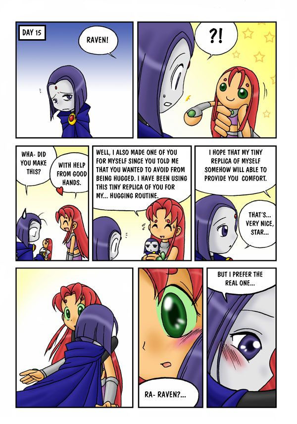 no more hugs from starfire - Google Search