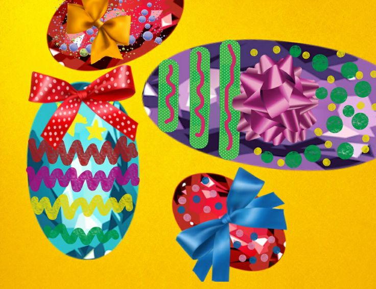 Easter eggs created by 'Crazy Craft'