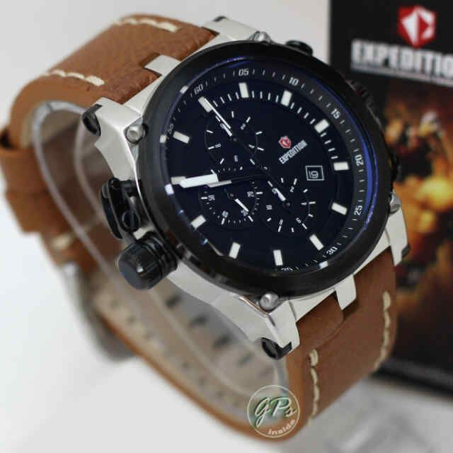 Expedition Black Sport Brown Leather (4.5cm) IDR 1.200K