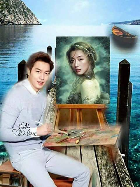 the legend of the blue sea. Lee Min ho & Jun Ji Hyun.   Legend of the Blue Sea   Pinterest ...