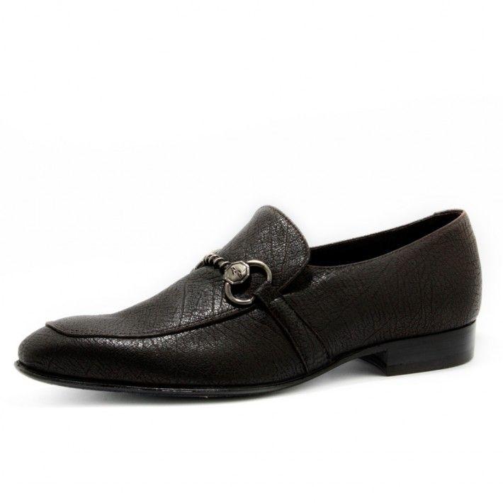 Art. 5042, Bassa in Vitello di colore T.Moro e fodera in Vitello #Mauron1959 #Italy #shoe #man #style #fashion #luxury