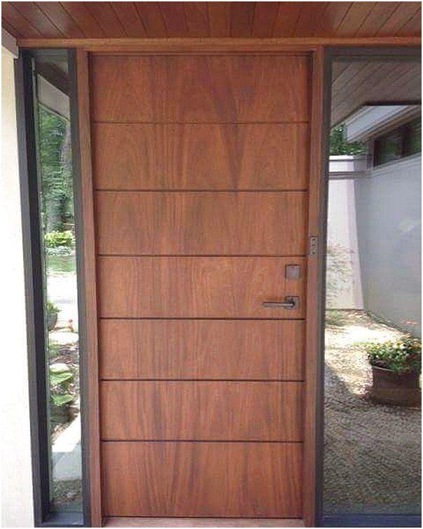 Model Pintu Utama Rumah Minimalis Terlengkap Sib Di 2019 Wooden