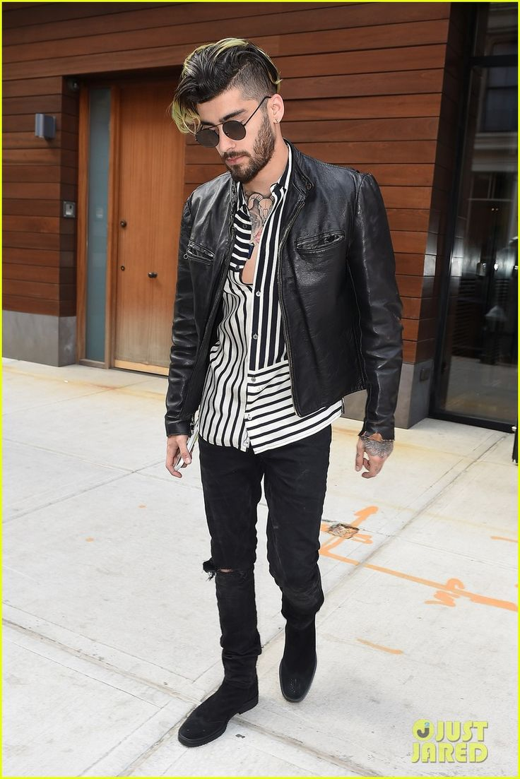 zayn malik spends time with gigi hadid after her work meeting 01
