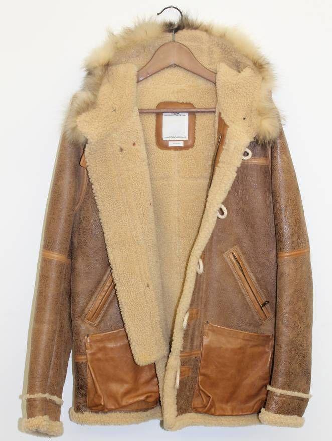 Visvim Hudson FW 10 11   Sheepskin jacket, Shearling jacket
