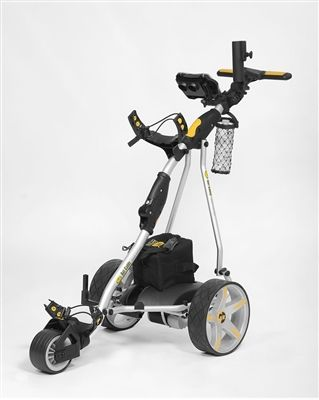 The X3 Pro Electric Caddy is an extension of the highly successful Bat Caddy X3 manual controlled golf trolley with even more features and greater performance.