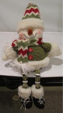 Shelf Dangle Snowman